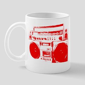 Boom Box RED Mug