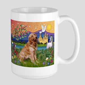 Fantasy Land Golden Large Mug