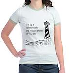 Lighthouse Jr. Ringer T-Shirt