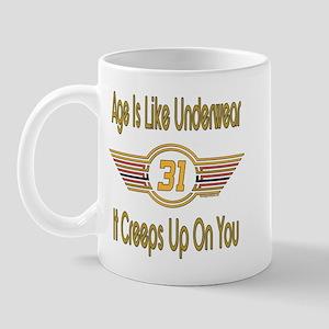 Funny 31st Birthday Mug