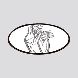 human-heart-blood-circulation-circa Patch
