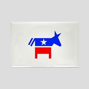Democrat Rectangle Magnet (10 pack)