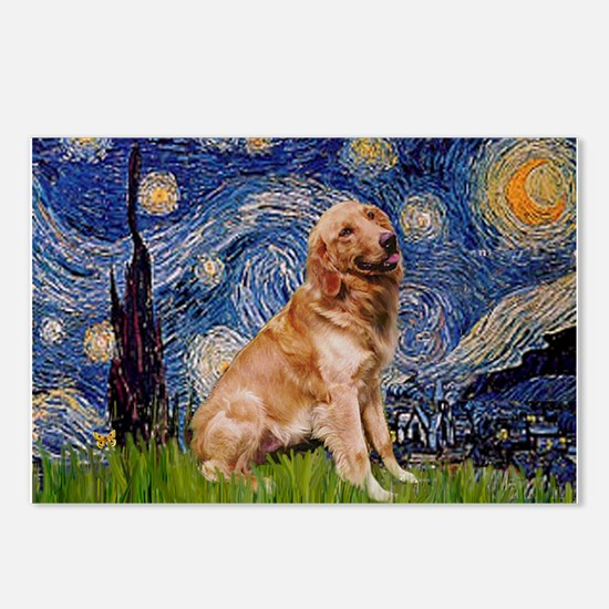 Starry / Golden (B) Postcards (Package of 8)