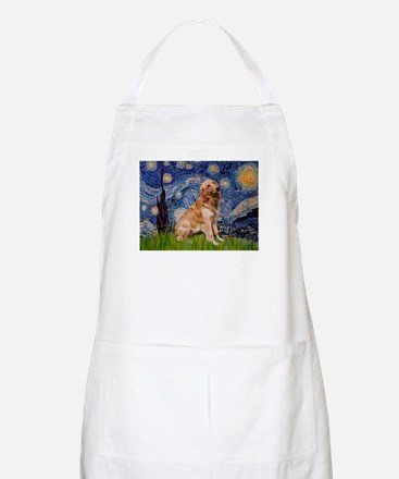 Starry / Golden (B) BBQ Apron