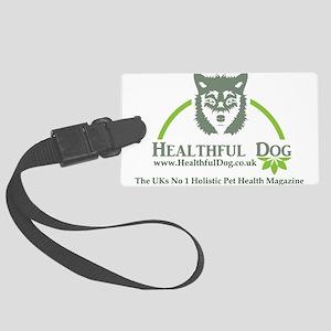 Healthful Dog Large Luggage Tag