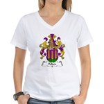 Felden Family Crest Women's V-Neck T-Shirt