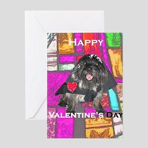 Nun-Such Cairn Terrier Valentine Greeting Card