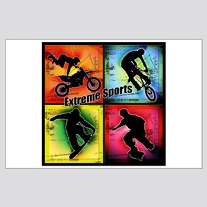 extreme sports posters cafepress