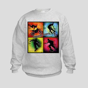 Extreme Sports Kids Sweatshirt