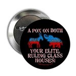 """A Pox on Both... 2.25"""" Button"""