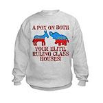 A Pox on Both... Kids Sweatshirt