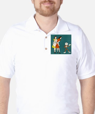 Light Girls Golf Shirt