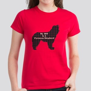 BFF Pyrenean Shepherd Women's Dark T-Shirt
