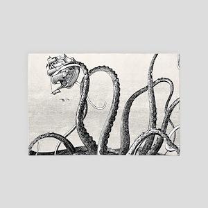 Kraken Attack 4' x 6' Rug