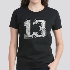 Retro 13 Number Women's Dark T-Shirt