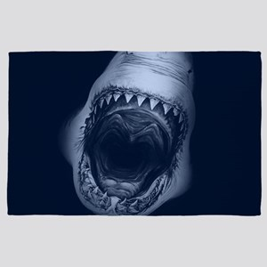 Big Shark Jaws 4' x 6' Rug
