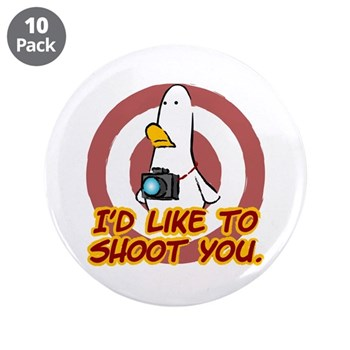 "WTD: I'd like to shoot you 3.5"" Button (10 pack)"
