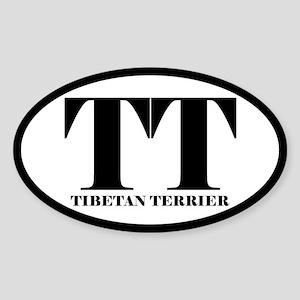 TT Abbreviation Tibetan Terrier Sticker