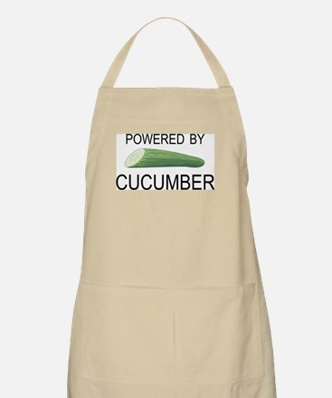 Powered By Cucumber BBQ Apron