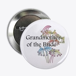 """Fireworks Grandmother of the Bride 2.25"""" Button"""