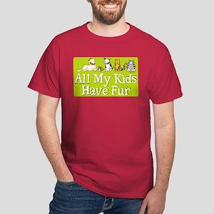 All My Fur Kids Dark T-Shirt