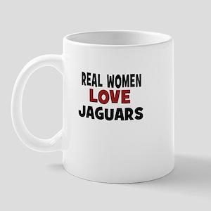 Real Women Love Jaguars Mug
