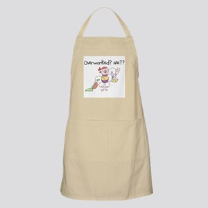 Overworked BBQ Apron