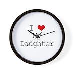 I Heart My Great Grandma Wall Clock