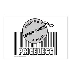 BRAIN TUMOR FINDING A CURE Postcards (Package of 8