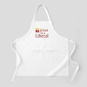 BBQ Apron - Jesus is a Liberal