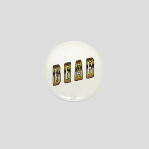 BEAR-BEAR PRIDE SKEWED Mini Button