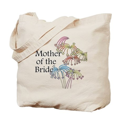 Fireworks Mother of the Bride Tote Bag