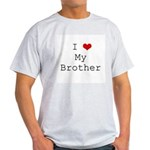 I Heart My Brother Light T-Shirt