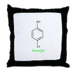 Molecularshirts.com Paranoid Throw Pillow