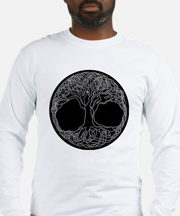 Funny Celtic tree life Long Sleeve T-Shirt