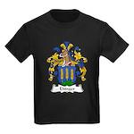 Ehinger Family Crest Kids Dark T-Shirt