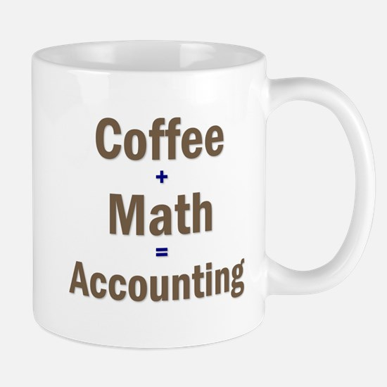 Coffee + Math = Accounting Mug