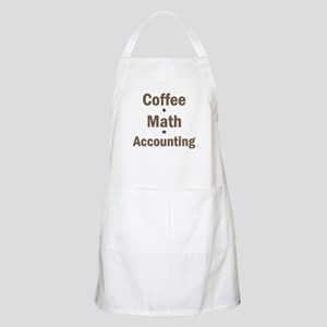 Coffee + Math = Accounting BBQ Apron