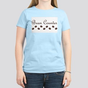 Bean Counter Coffee Beans Women's Light T-Shirt