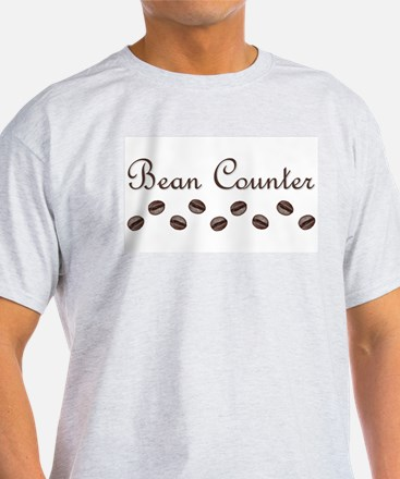 Bean Counter Coffee Beans T-Shirt
