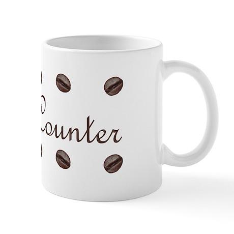 Bean Counter Coffee Beans Mug