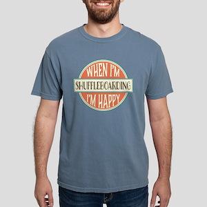 happy shuffleboarder White T-Shirt