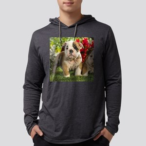 Cute English Bulldog Puppy Long Sleeve T-Shirt