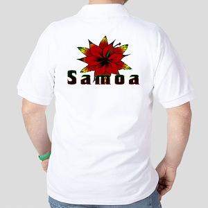 Samoa Rasta Golf Shirt
