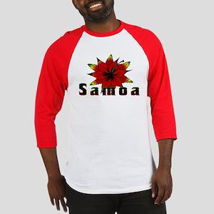 Samoa Rasta Baseball Jersey