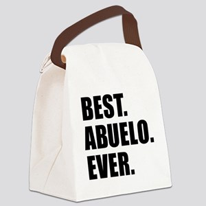 Best Abuelo Ever Canvas Lunch Bag