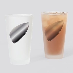 A Silver Bullet Drinking Glass