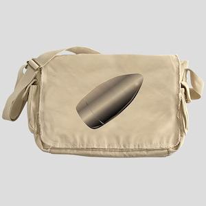 A Silver Bullet Messenger Bag