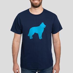 Blue Belgian Sheepdog Dark T-Shirt