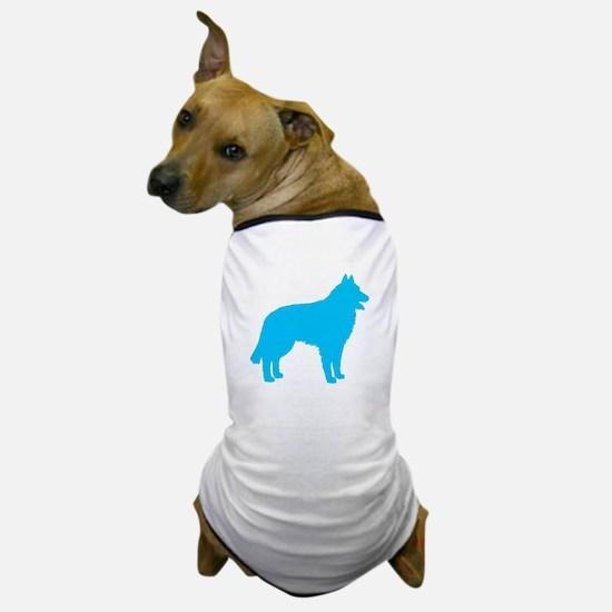 Blue Belgian Sheepdog Dog T-Shirt